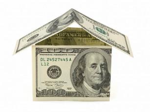 عکس دلار شکل خانه