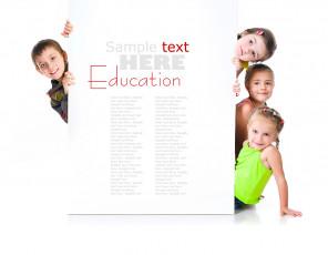عکس کودکان با تابلو سفید