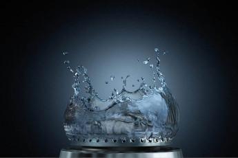 عکس اجسام و اشیاء سه بعدی شعله و آب