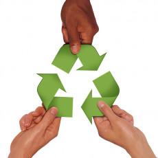 عکس چرخه زندگی و محیط زیست و بازیافت