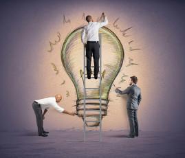 عکس مرد و طرح ایده