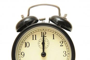 عکس ساعت شماطه دار مشکی