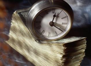 عکس پول و ساعت
