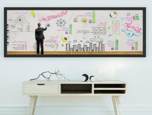 طراحی اینفوگرافک برای سازمان زیرساخت ارتباطات