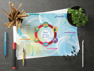 طراحی اینفوگرافیک برای سازمان تامین اجتماعی