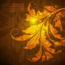 تصویر وکتور با طرح برگ