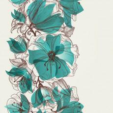 تصویر وکتور گلهای زیبا برای بکگراند