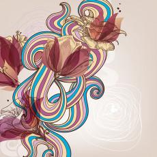 عکس وکتور گل برای طراحی