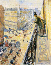 تابلوی نقاشی خیابان لافایت اثر ادوارد مونک