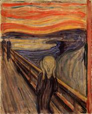تابلوی نقاشی جیغ اثر ادوارد مونک