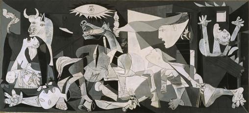 تابلوی نقاشی گرنیکا اثر پابلو پیکاسو