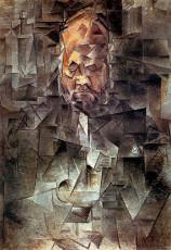 تابلوی نقاشی پرتره آمبرویس ولارد اثر پابلو پیکاسو