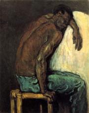 تابلوی نقاشی The Negro Scipio اثر پل سزان