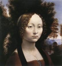 تابلوی نقاشی Portrait of Ginevra Benci اثر لئوناردو داوینچی