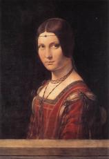 تابلوی نقاشی پرتره زن بدون نام اثر لئوناردو داوینچی