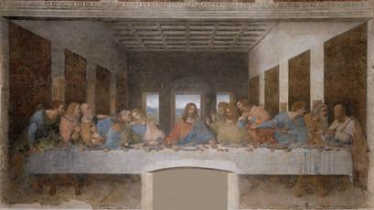 تابلوی نقاشی شام آخر اثر لئوناردو داوینچی