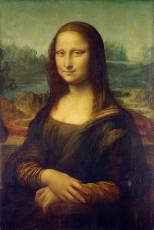 تابلوی نقاشی مونالیزا (لبخند ژوکوند) اثر لئوناردو داوینچی
