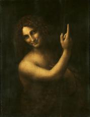 تابلوی نقاشی سنت جان باپتیست اثر لئوناردو داوینچی