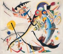 تابلوی نقاشی بخش آبی اثر واسیلی کاندینسکی