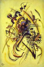 تابلوی نقاشی به سوی صدای ناشناس اثر واسیلی کاندینسکی