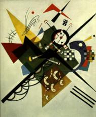 تابلوی نقاشی روی سفید 2 اثر واسیلی کاندینسکی