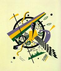 تابلوی نقاشی دنیاهای کوچک 4 اثر واسیلی کاندینسکی