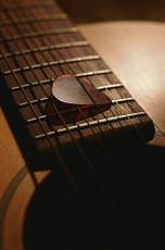 عکس دسته و سیم های گیتار