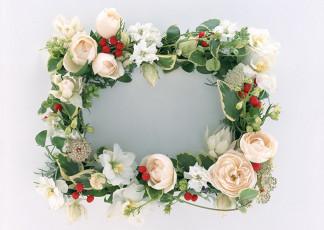 عکس تاج گل رز سفید