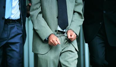 عکس مجرم و دستبند