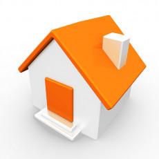 عکس گرافیکی خانه نارنجی