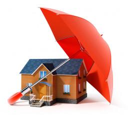 عکس گرافیکی خانه و چتر