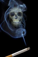 عکس دود و سیگار