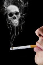 عکس سیگار و دود آن