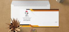 طراحی پاکت نامه ملخی