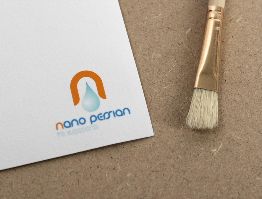 طراحی لوگو برای شرکت نانو پرشین